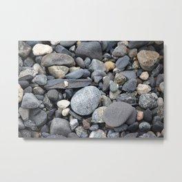More Rocks Pebbles Stones :: Alaskan Sand Metal Print