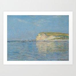 Low Tide at Pourville near Dieppe Art Print