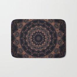 Obsidian // Witchy Bohemian Gypsy Dark Visionary Mandala Witch Circle Tarot Spell Magical Symbols Bath Mat