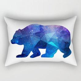 BEAR POLYGONAL SPACE Rectangular Pillow