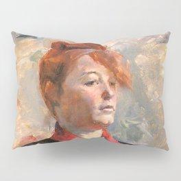 """Henri de Toulouse-Lautrec """"tMadame Lili Grenier"""" Pillow Sham"""