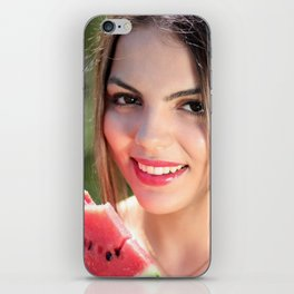Sexy Woman With Watermelon iPhone Skin