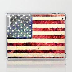 Vintage American Flag Laptop & iPad Skin