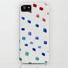 Rainbow Dots iPhone Case