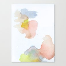 Watercolor Sixteen Canvas Print