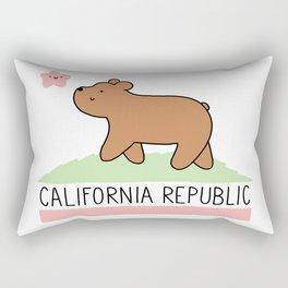 Kawaii California Republic Rectangular Pillow