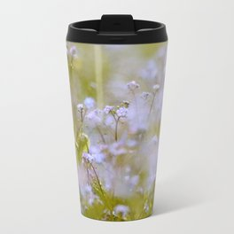 Forget-me-nots On a Windy Day #decor #society6 Travel Mug