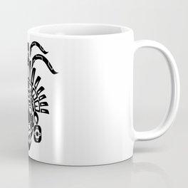 Mayan Mask Coffee Mug