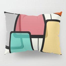Mid-Century Modern Art Landscape 1.1 Pillow Sham