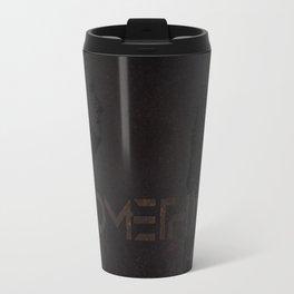 Do Something Grunge Travel Mug