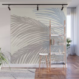 Winter Palms Wall Mural