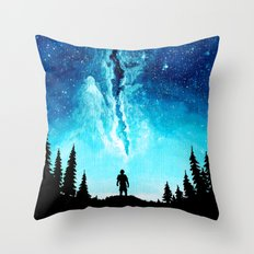 Alone In The Galaxy Throw Pillow