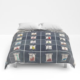 hotel for cats Comforters