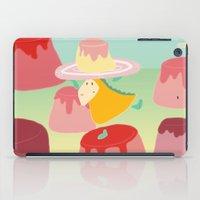 dessert iPad Cases featuring Dessert by Loezelot