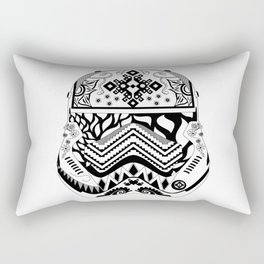 Floral Stormtrooper Rectangular Pillow