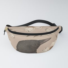 The Crow and Dogwoods Fanny Pack