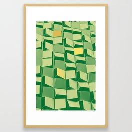 Green Palace Framed Art Print