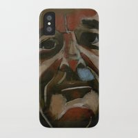 murray iPhone & iPod Cases featuring Bill Murray by Jonny Moochie