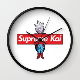 supreme kai Wall Clock