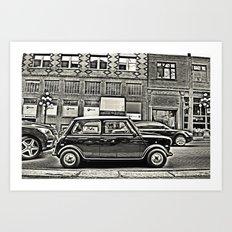 Mini 2 Art Print