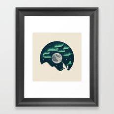 Arctic Tune Framed Art Print
