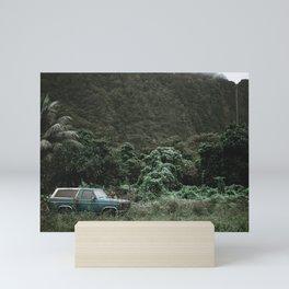 Summer Road Trip II / Kaui, Hawaii Mini Art Print