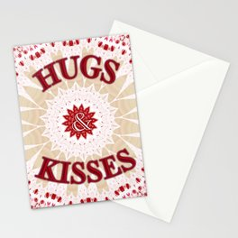 'Be my Cupcake Hugs & Kisses' by Angelique G. FromtheBreathofDaydeams Stationery Cards