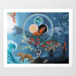 Inner Landscape Art Print