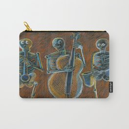 Jazz Time With The Bonz Band Carry-All Pouch