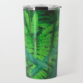 Jungle Green on a Rainy Day Travel Mug
