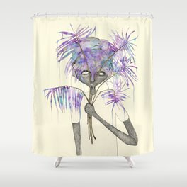 TREES NEVER LIED 04 Shower Curtain