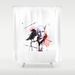 erchomai Shower Curtain