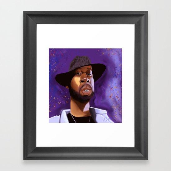 Dilla Framed Art Print