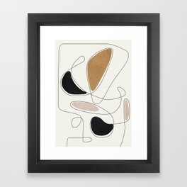 Thin Flow III Framed Art Print