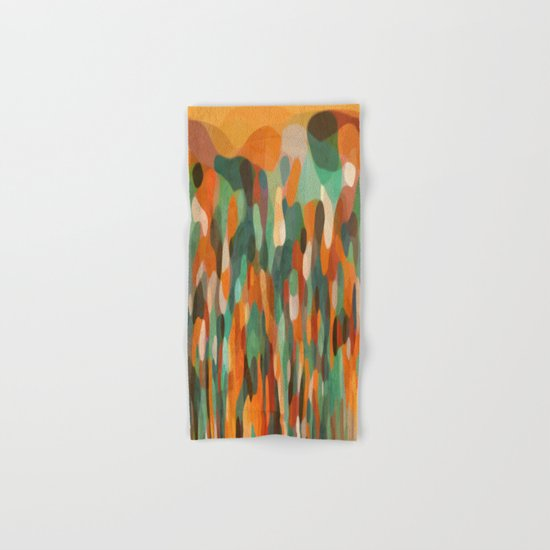 Tropical Meeting Hand & Bath Towel