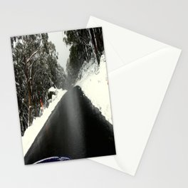 No Chains, No Traction, No Common Sense Stationery Cards