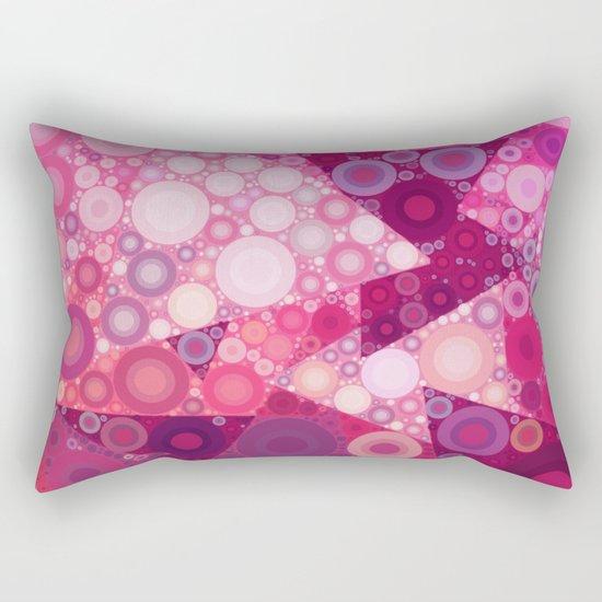Pink Sherbet Bubbles Rectangular Pillow