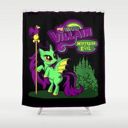 Mistress of all Ponies Shower Curtain