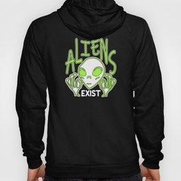 Aliens Exist Hoody