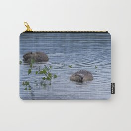 Beavers at Breakfast Carry-All Pouch