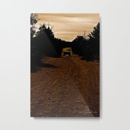 Desert Roads - Sedona, Arizona Metal Print