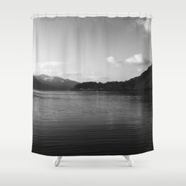 View on the Loch Shower Curtain