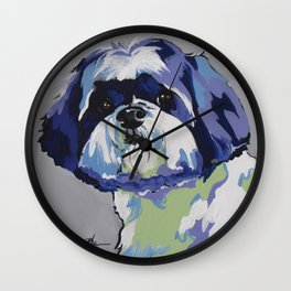 Ringo the Shih Tzu Wall Clock