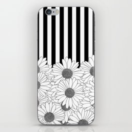 Daisy Stripe iPhone Skin