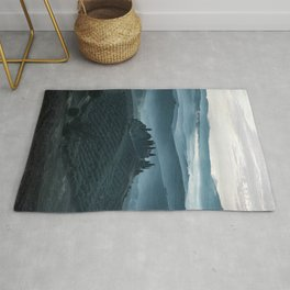 One cold day in Toscany Rug