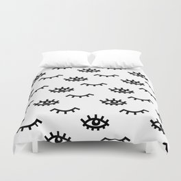 Eyelash Wishes Duvet Cover