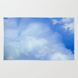 Clouds In A Canadian Sky Rug