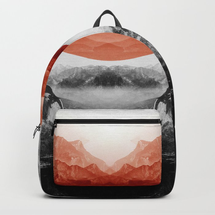 Why down the red Backpack