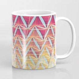 From pink to yellow pattern Coffee Mug