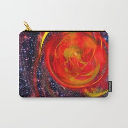 Red Star Burst Carry-All Pouch
